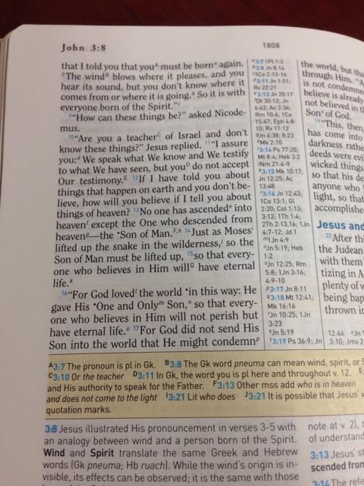 John 3:16 - HCSB